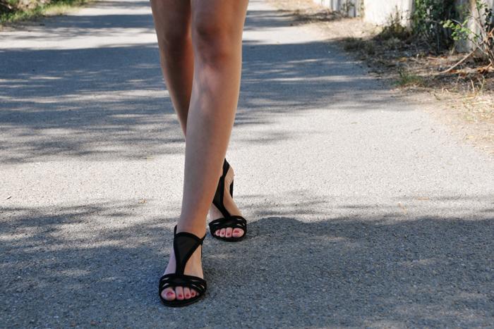 mode-look-robe-noire-été