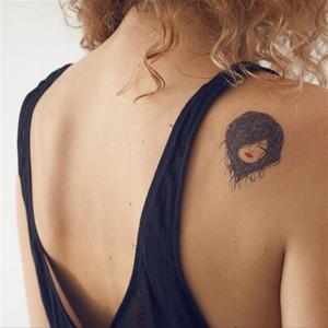 tattoo-portrait-éphémère