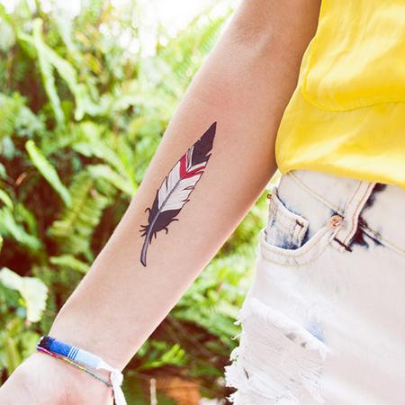 plume-kiowa-tatouage-temporaire