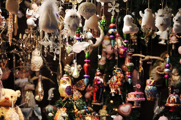 esprit Noël cadeaux décoration stand