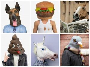 masques humoristiques inutiles indispensables