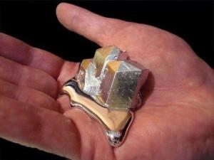 inutile indispensable gallium metal