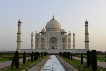 Inde-pays-photographie)-Taj-Mahal
