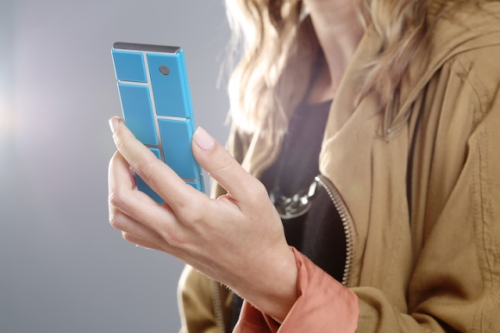 Projet Ara Google Motorola smartphone modulable