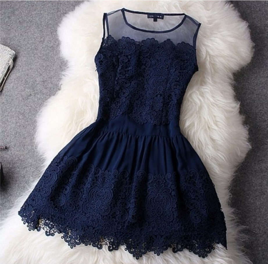 Robe bleu wish