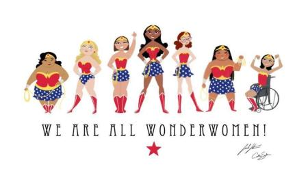 We Are All Wonderwomen !