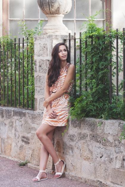 robe-tendance-imprimés-chaussures-été